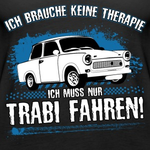 Trabi driving is my therapy! - Women's Premium Tank Top