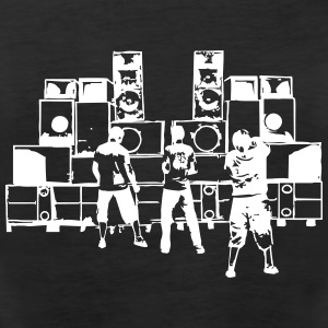 sound system - Women's Premium Tank Top