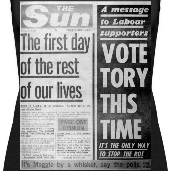 Vote Tory This Time FP BW