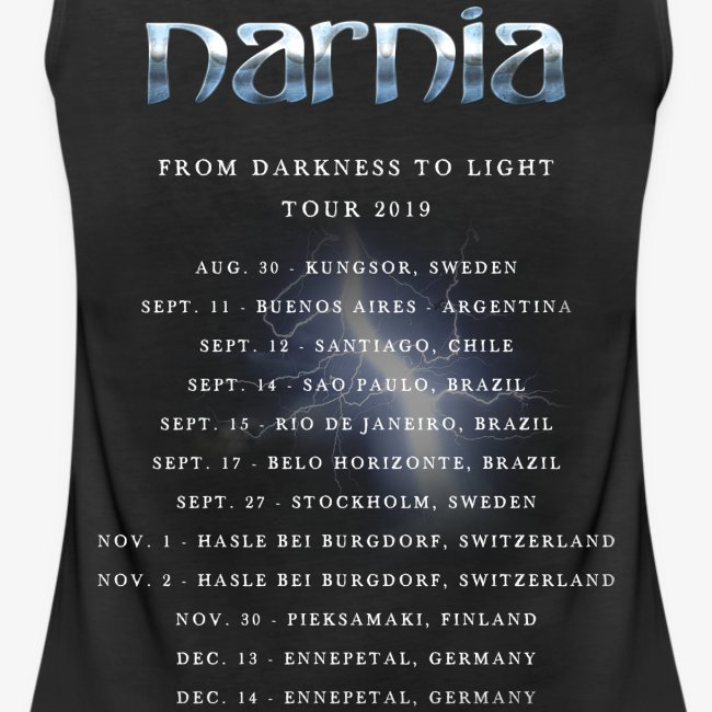 Narnia From Darkness to Light Tour 2019