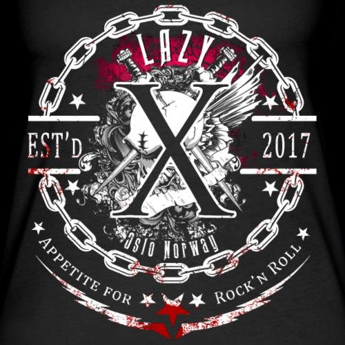 Lazy X - Logo - Appetite for Rock'n Roll - Women's Premium Tank Top
