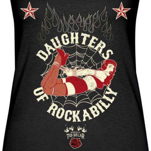 daughters of rockabilly red - Débardeur Premium Femme