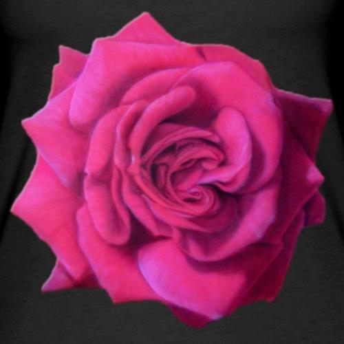 Rosa Rose - Frauen Premium Tank Top
