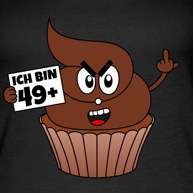 Simsalapimp Kackcake 50 Geburtstag Spruch Ich Bin 49 Plus 1
