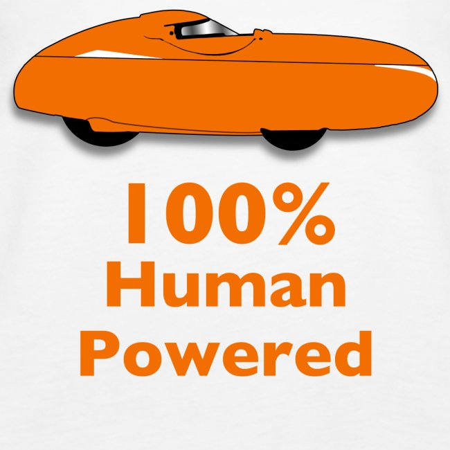 100% human powered