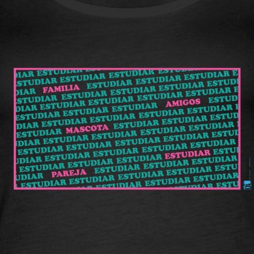 En qué piensa un opositor u opositora - Camiseta de tirantes premium mujer