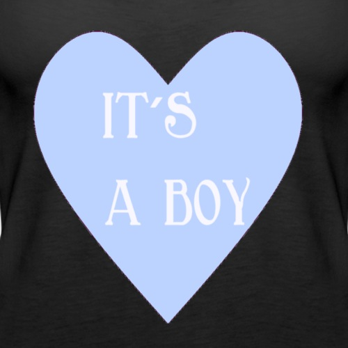 It s a boy - Frauen Premium Tank Top