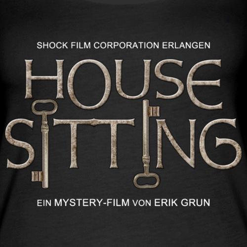 House Sitting - Logo - Frauen Premium Tank Top