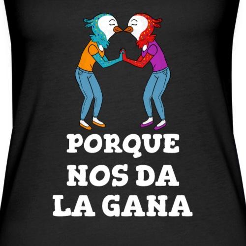 Lesbis Orgullo LGBTI | Pq nos da la Gana - Camiseta de tirantes premium mujer