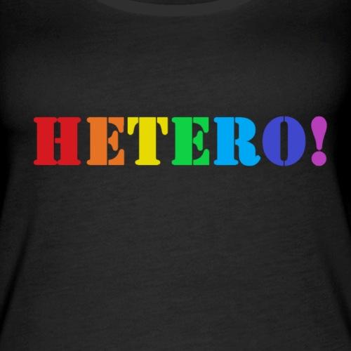 PrideHetero - Naisten premium hihaton toppi