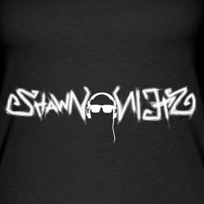 Shawn Stein Logo weiß / QR