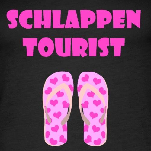 schlappen tourist women - Frauen Premium Tank Top
