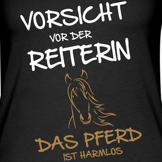Vorschau: Vorsicht vor der Reiterin - Frauen Premium Tank Top