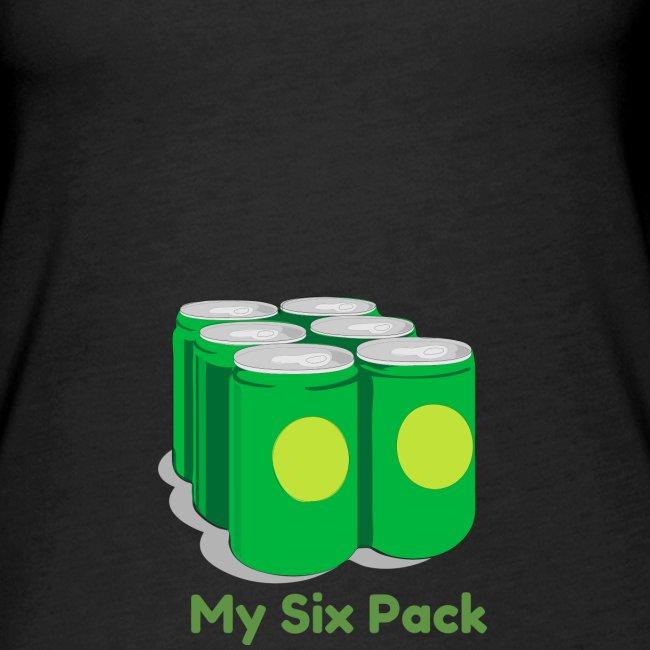 My Six Pack tshirt print