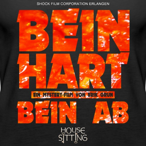 House Sitting - Bein Hart / Bein Ab - Frauen Premium Tank Top
