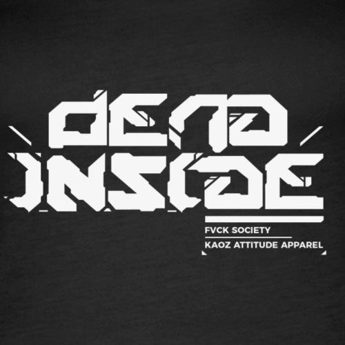 Dead Inside_fsociety collection - Frauen Premium Tank Top