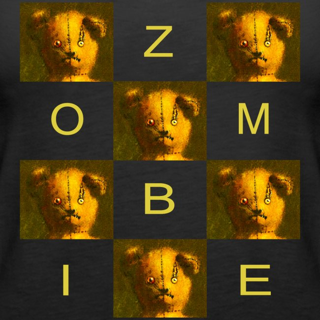 Zombie Teddy Bear Design