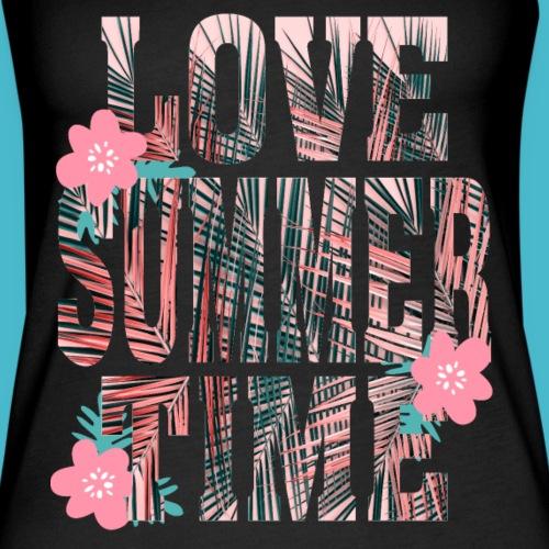 Love Summer Time Palmen Sommer Geschenk