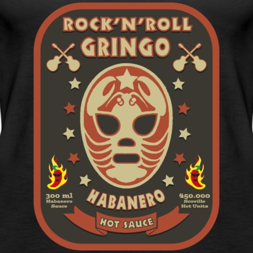 Rock 'n' Roll Gringo HotSauce - Vrouwen Premium tank top