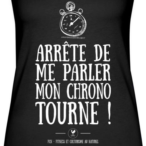 Chrono - Débardeur Premium Femme