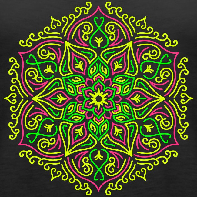 Fire Lotus Mandala