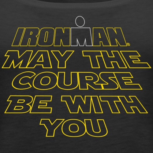 may the course be with you - Women's Premium Tank Top