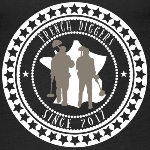 Team French Diggers - BLANC - Débardeur Premium Femme