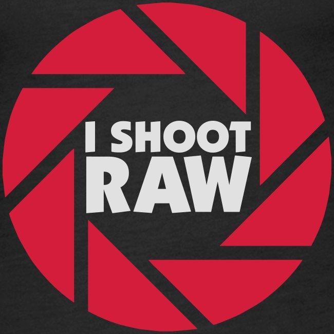 I shoot RAW - weiß