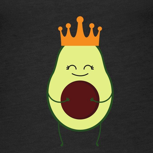 Avocado Liebe mit Krone