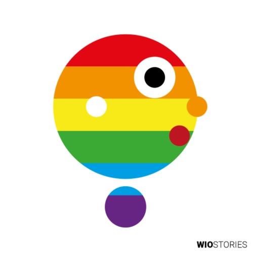 WIO LGTBI - Camiseta de tirantes premium mujer