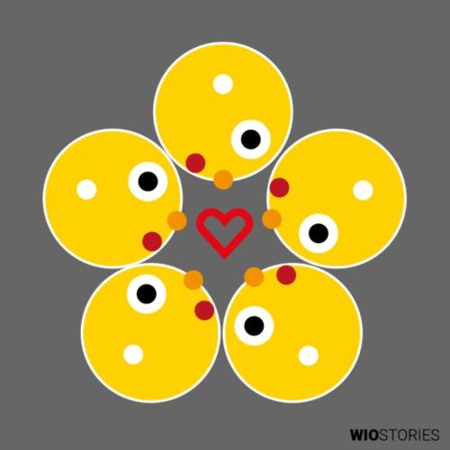 WIO LOVE - Camiseta de tirantes premium mujer