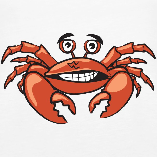 Sommer Urlaub Krabbe