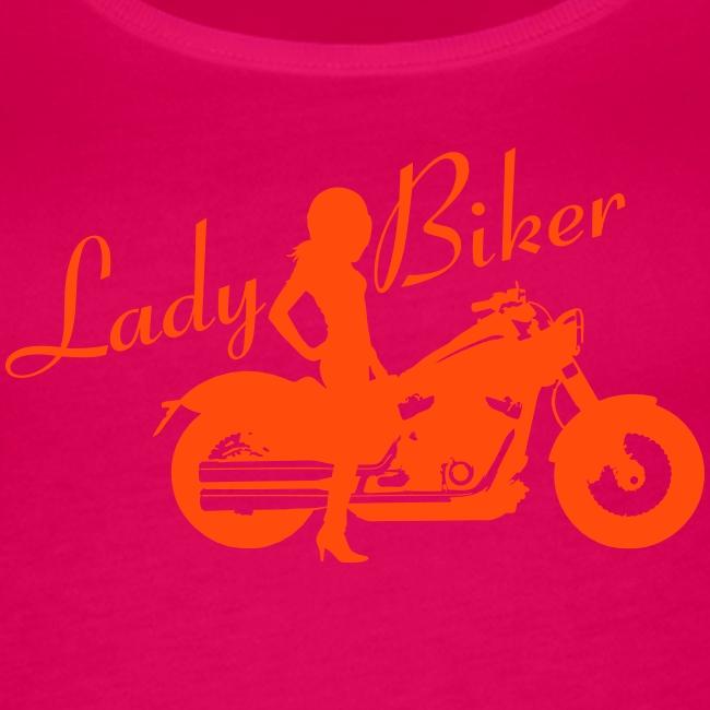 Lady Biker - Custom bike