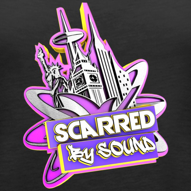 SCARRED BY SOUND LOGO