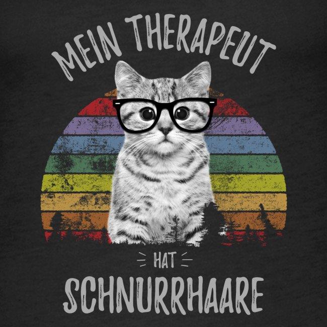 Vorschau: Therapeut Katze - Frauen Premium Tank Top