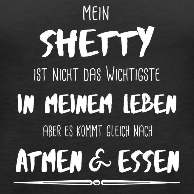 Das Wichtigste - Shetty