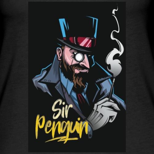 Sir Penguin - Women's Premium Tank Top