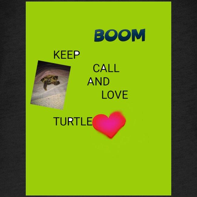 Keep call and love turtle