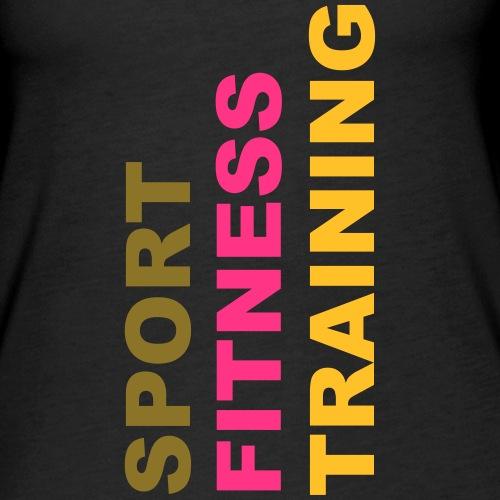 sport_fitness_training - Débardeur Premium Femme