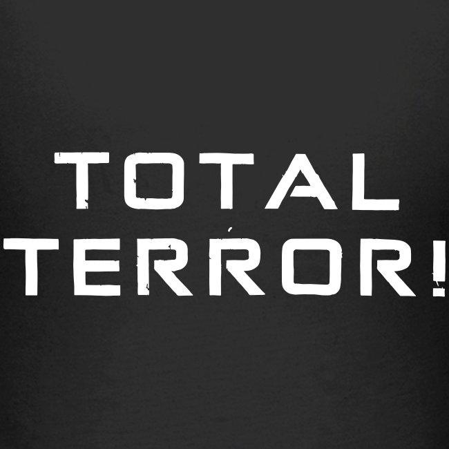 White Negant logo + TOTAL TERROR!