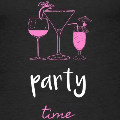 Party Time - Vrouwen Premium tank top