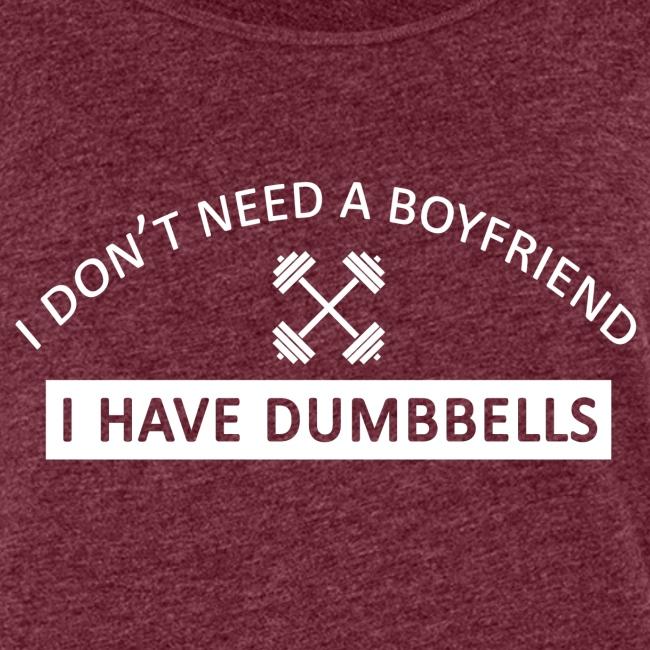 I don t need a boyfriend blanc