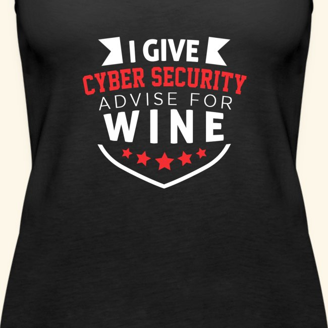 I give cyber security advice for wine