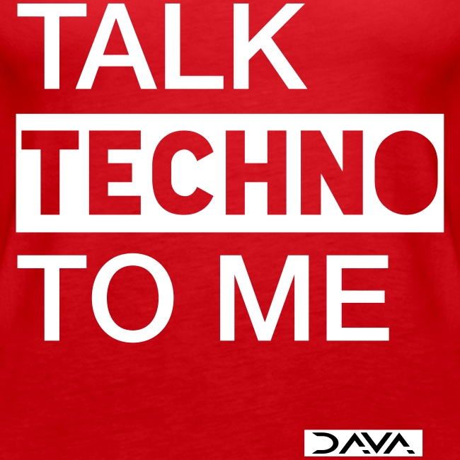 Talk Techno - white