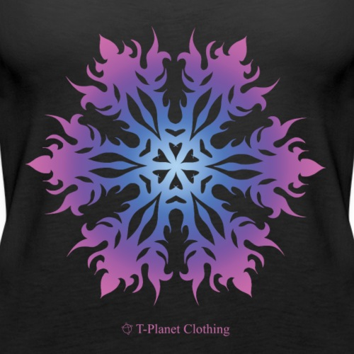 Purple Snowflake - Canotta premium da donna