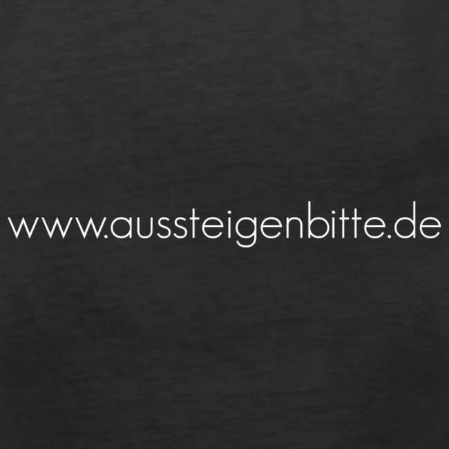 Logo Spruch weiß