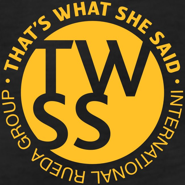 TWSS logo - That's What She Said - International