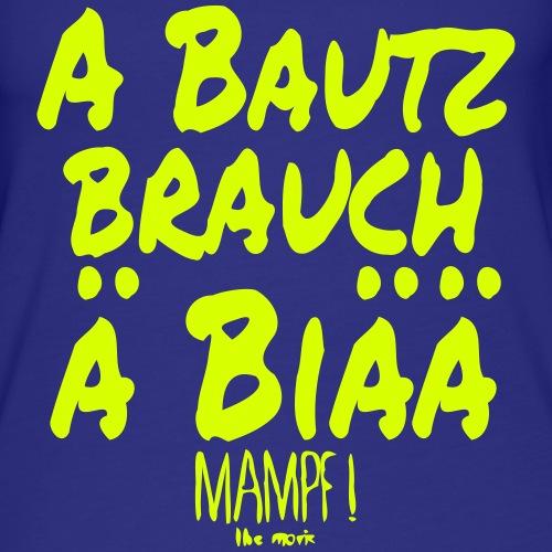 Mampf The Movie - Bautz brauch - Frauen Premium Tank Top