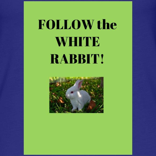 Follow the white rabbit Foto