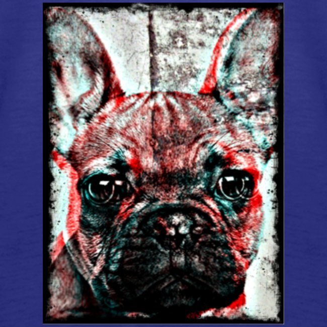 French Bulldog - Retro